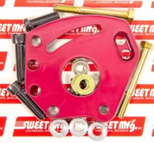 SWEET #325-30030 Pwr Steering Pump Brkt Kit Chevy Head Mnt
