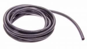 TAYLOR-VERTEX #38092 Convoluted Tubing 1/4in x 25' Black