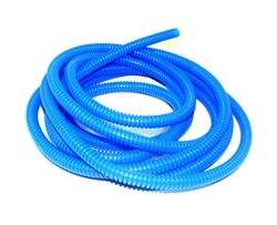 Convoluted Tubing 1/4in x 10' Blue