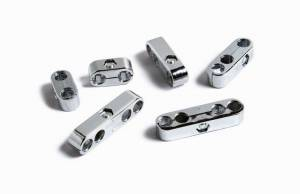Clamp Style Plug Wire Separators Chrome 7-8mm