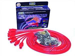 TAYLOR-VERTEX #70254 8mm Red Pro Wire 180 Dgr
