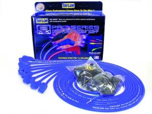 TAYLOR-VERTEX #70650 8mm Blue Pro Wire 90 Dgr