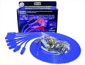TAYLOR-VERTEX #70655 8mm Blue Pro Wire 180 Dg