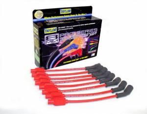 TAYLOR-VERTEX #74244 Red Spiro-Pro 8 Cylinder Plug Wire Set