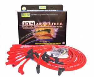 TAYLOR-VERTEX #79258 Custom Fit 10.4mm 409 Plug Wires Red