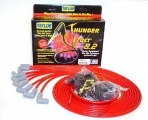 TAYLOR-VERTEX #83251 Univ Thundervolt Plug Wire Ste 90 deg Red