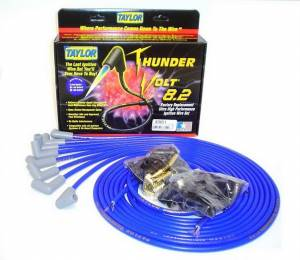 TAYLOR-VERTEX #83651 Univ Thundervolt Plug Wire Set 90 deg Blue