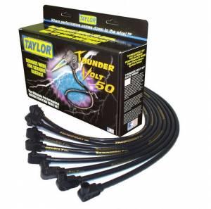 TAYLOR-VERTEX #98002 10.4mm V8 Thunder Volt 50 Plug Wire Set BBC HEI