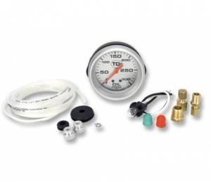 TCI #801101 Pressure Gauge 2-5/8 Transmission Silver Face