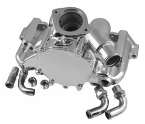 TUFF-STUFF #1362A GM LT1 Water Pump Chrome