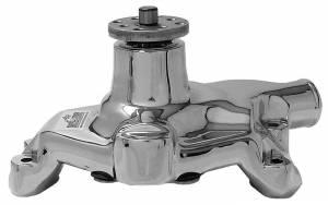 TUFF-STUFF #1394NB SBC Alum. Short Water Pump Polished 5/8in