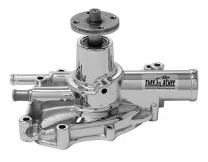 TUFF-STUFF #1625NA Ford 5.0 Mustang Chrome Water Pump