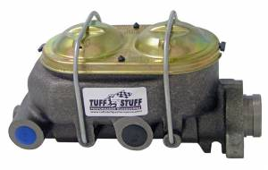 TUFF-STUFF #2018NB Dual Reservoir Master Cylinder 1in Bore Shallow