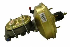 TUFF-STUFF #2131NB 9in Diaphram Booster/ Master Cylinder Zinc