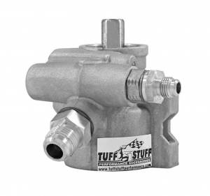 TUFF-STUFF #6175AL Type 2 Power Steering Pump Cast Alum