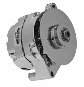 TUFF-STUFF #7068RD Ford Alternator Chrome 1 Wire 1 Groove Pulley