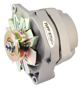 TUFF-STUFF #7127 80 Amp Alternator GM 1 Wire V-Groove