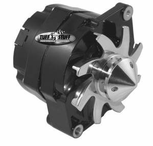 TUFF-STUFF #7139FBULL 100 Amp Alternator GM 1 Wire V-Groove
