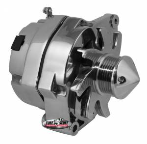 TUFF-STUFF #7140BBULL6G GM Alternator Silver Bul let 140 amp 1-Wire Pol.