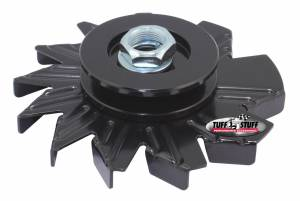 Alternator Stealth Black Fan and Pulley Combo