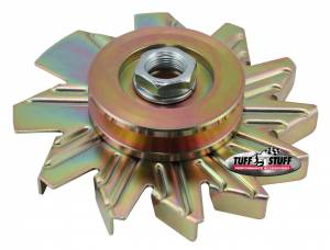 TUFF-STUFF #7600AD Alternator Gold Zinc Fan And Pulley Combo
