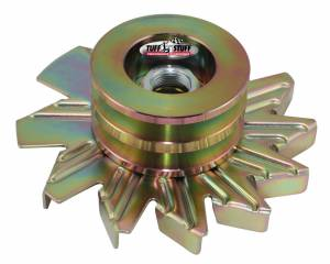 TUFF-STUFF #7600BD Alternator Gold Zinc Fan And Pulley Combo