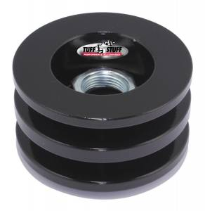 TUFF-STUFF #7610FB Alternator Stealth Black Pulley Double V