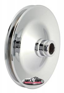 TUFF-STUFF #8485A Power Steering Pulley Si ngle Groove For Saginaw