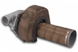 THERMO-TEC #15041 T3 Carbon Fiber Turbo Insulating Kit