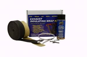 THERMO-TEC #19122 Exhaust Wrap Kit 4/6 Cylinder Black