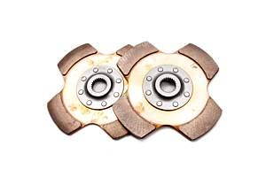 TILTON #64185-8-VV-30 Clutch Pack 2 Disc 7.25 1in x 23spl Cerametallic