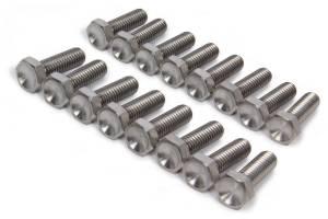 Ti22 PERFORMANCE #TIP1010 Bead Lock Bolt Kit 16pcs Titanium 1in Long