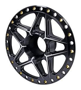 Splined Wheel Center Black
