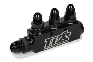 Ti22 PERFORMANCE #TIP5500 Fuel Return Block w/ Fittings
