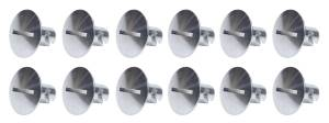 Ti22 PERFORMANCE #TIP8108 Large Head Dzus Buttons .500 Long 10 Pack