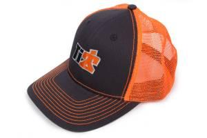 Ti22 Mesh Trucker Hat Gray/Orange