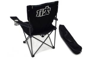 Ti22 PERFORMANCE #TOP DOG CAMP CHAIR# CPCH Ti22 Folding Chair With Carrying Bag Black