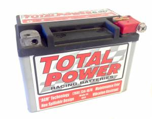 TOTAL POWER BATTERY #TP620 6.5lb Racing Battery 120 CCA