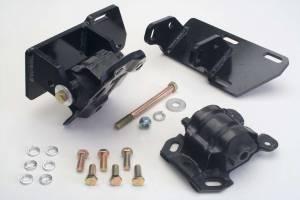 TRANS-DAPT #4406 SBC Into 4WD S-10 Conversion Motor Mounts