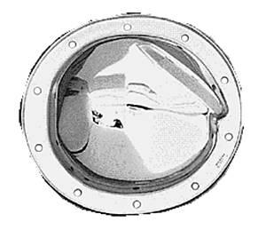 TRANS-DAPT #8780 Differential Cover Kit Chrome GM 10 Bolt