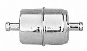 TRANS-DAPT #9177 3/8in Chrome Fuel Filter