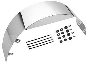 5in Wide Chrome Fan Shroud