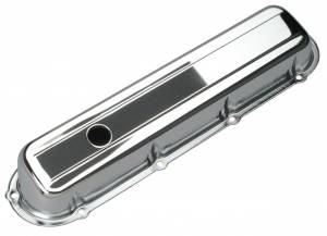 TRANS-DAPT #9521 Chrome Valve Covers - Cadillac