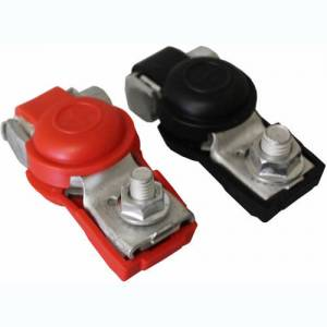 TURBO START #ACC014 Pos/Neg Top Post Clamps