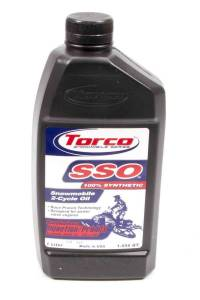TORCO #S960066CE SSO Synthetic Smokeless 2 Cycle Snowmobile Oil