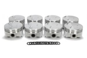 TRICK FLOW #TFS-51404000 SBF 302 F/T Piston Set 4.030 Bore  -2.0 cc