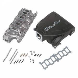 TRICK FLOW #TFS-D51511002 Intake Manifold Ford 5.0L Track Heat Black