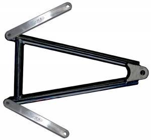 TRIPLE X RACE COMPONENTS #600-SU-0002BLK Jacobs Ladder 10-1/4in w/Straps Black Mini Spri