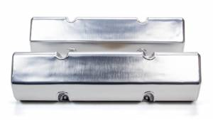 TRIPLE X RACE COMPONENTS #SC-EG-0003 SBC Valve Covers Billet Polished Alum