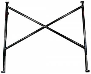 TRIPLE X RACE COMPONENTS #SC-TW-0033BLK Top Wing Tree Black 16in Sprint Car